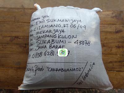 Benih Pesanan   EMI SUKMAWIJAYA Sukabumi, Jabar.   (Sesudah Packing)