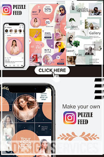 Aesthetic puzzle feed instagram for you - best puzzle feed instagram accounts - feed background