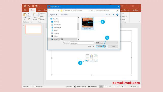 Cara Menyisipkan Gambar ke Dalam Slide Presentasi PowerPoint