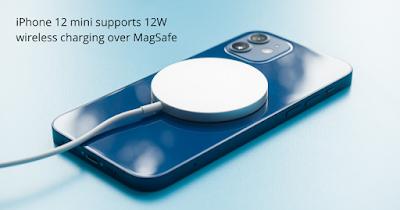 Apple iPhone 12 mini รองรับการชาร์จไร้สายผ่าน Magsafe ได้เพียง 12W เท่านั้น