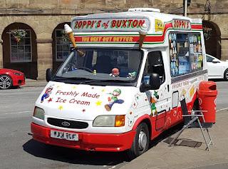 Mario & Luigi Ice Cream Van