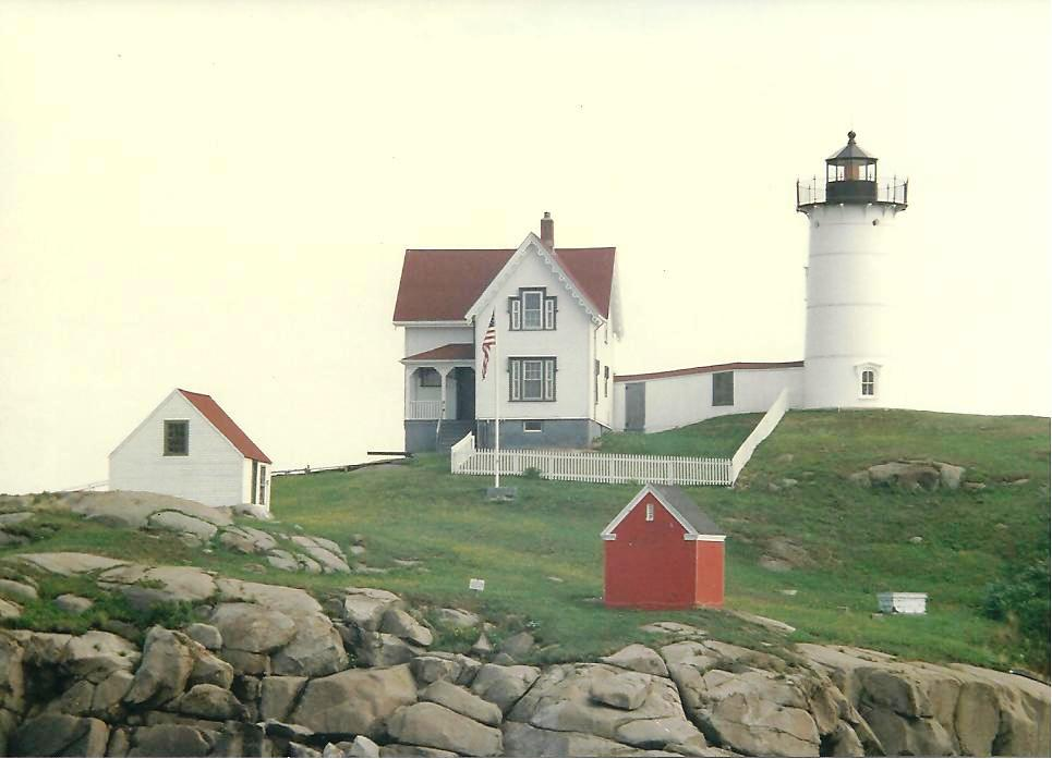 Maine Cape Ned Lighthouse