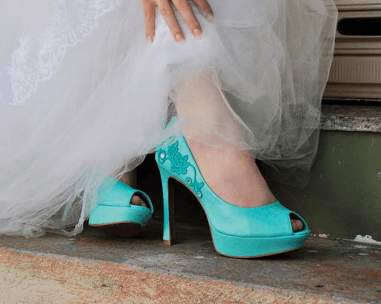 sapato de noiva personalizado