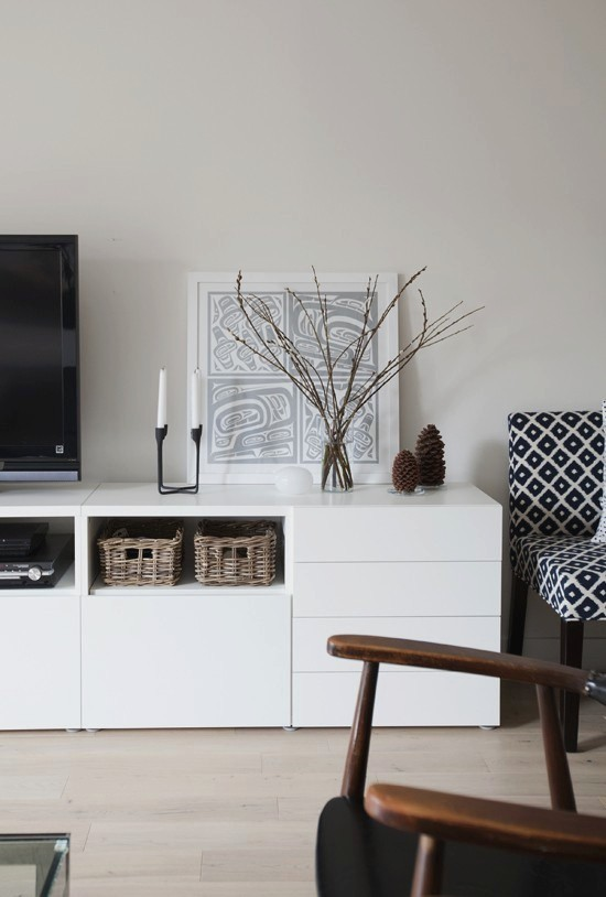 Weekend Escapades - Besta Ikea White Creative