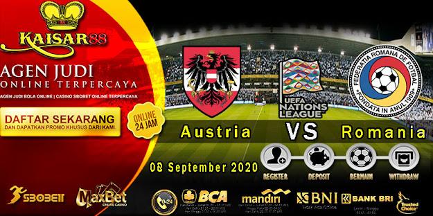 Prediksi Bola Terpercaya Ajang UEFA Nations Austria vs Romania 8 September 2020