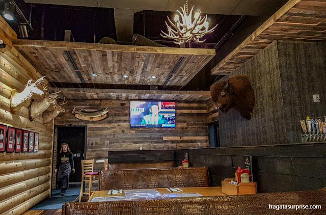 Kooky Canuck, restaurante canadense em Memphis, Tenessi