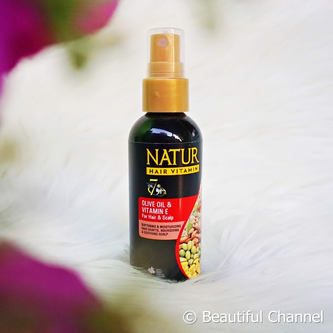 Review: Natur Hair Vitamin Olive Oil & Vitamin E (for Hair and Scalp)