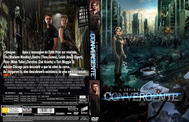 Capa DVD A Série Divergente Convergente
