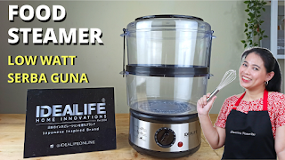 REVIEW FOOD STEAMER IDEALIFE