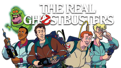 Nerdversity Reviews: The Real Ghostbusters - The Halloween Door