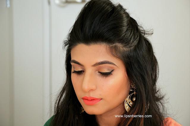 Becca Champagne pop highlighter Indian skin NC35