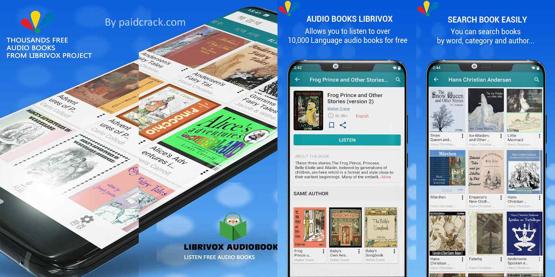 LibriVox - Listen Free Audio Books Premium Mod Apk 2.6.7
