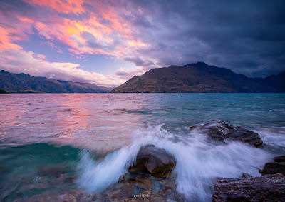 Queenstown, Lake Wakatipu, Sunset