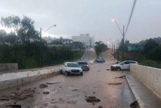 Chuvas caem em diversas cidades
