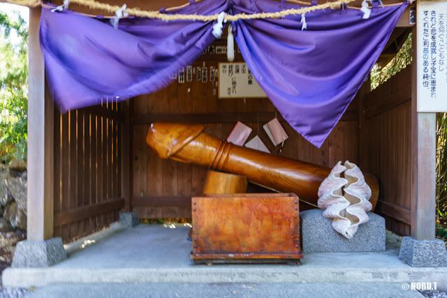 野島崎・厳島神社の子宝の祠