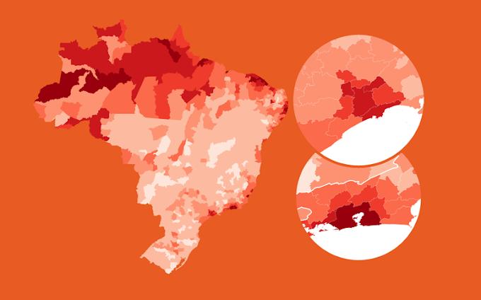 Covid - 19 no Ceará em tempo real no site Ceará em Rede