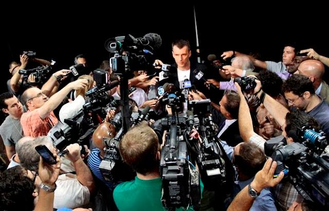 pression media journaliste sport