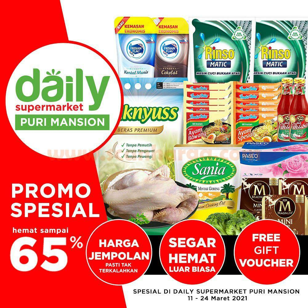 The Foodhall Promo Spesial Hemat hingga 65% di Daily Supermarket Puri Mansion