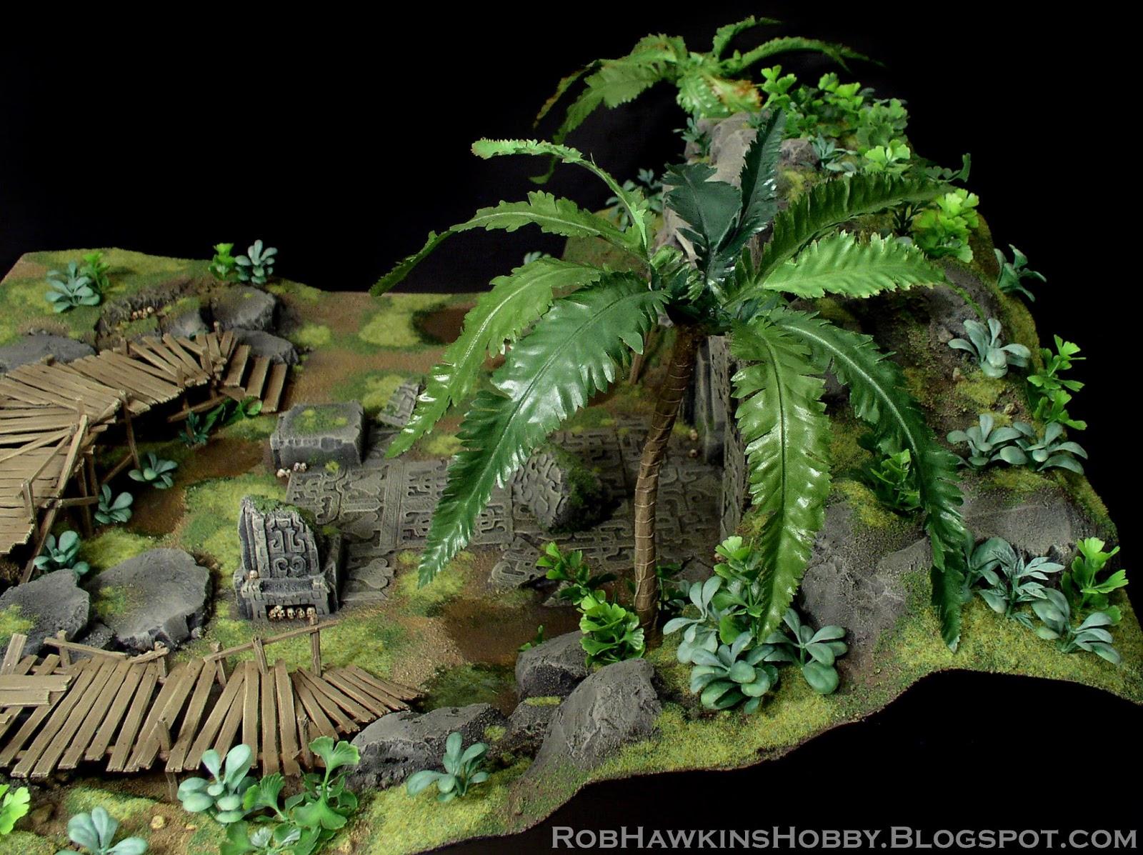 Rob Hawkins Hobby Conan Terrain Jungle Temple