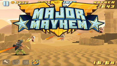 shooting game menembak terbaik android major mayhem