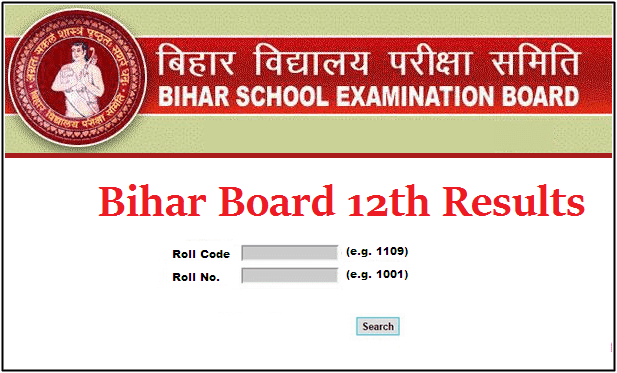 BIHAR BOARD 12TH COMMERCE RESULT 2020