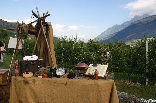 I banchetti del Festival Medievale di Sarriod de la Tour