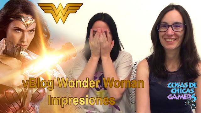 wonder woman vblog