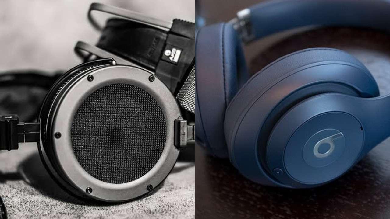 perbedaan headphone closed back dan open back