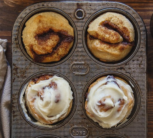 Quick Cinnamon Rolls for two #desserts #breakfast