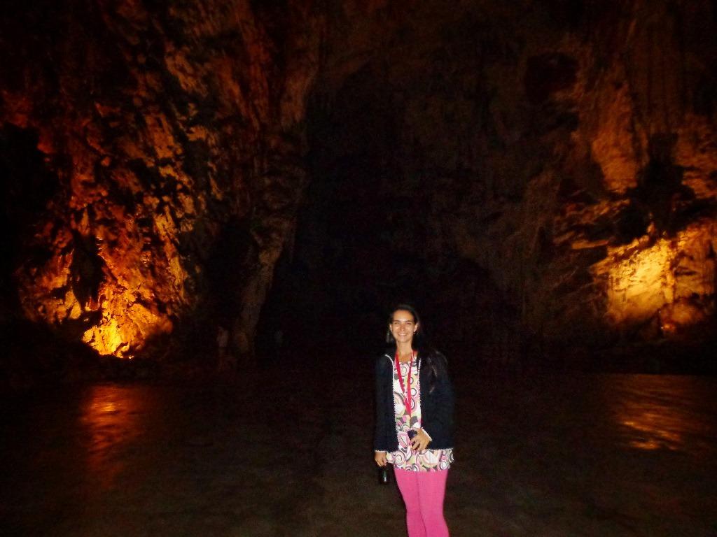Caverna de Postojna na Eslovênia