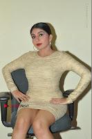 Actress Pooja Roshan Stills in Golden Short Dress at Box Movie Audio Launch  0064.JPG
