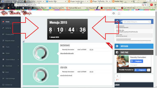Countdown Timer 2015