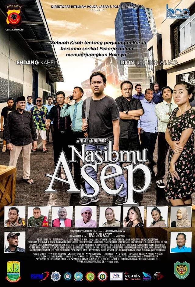 """May Day, Forkopimda Karawang Bersama Para Buruh Nobar Film """"Nasibmu Asep"""""""