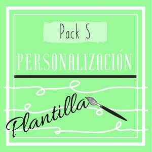 Cartel Pack S (personalización plantilla)