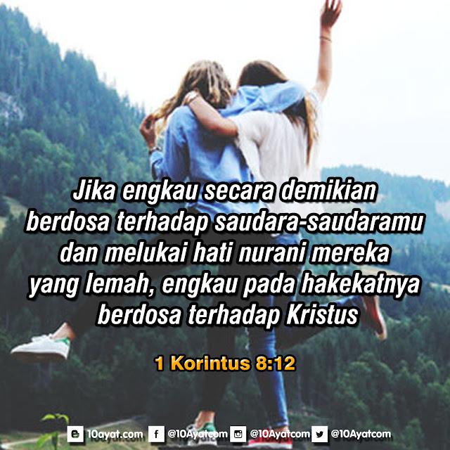 1 Korintus 8:12