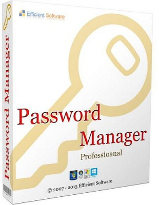 Efficient Password Manager Pro 5.50 Build 542 poster box cover