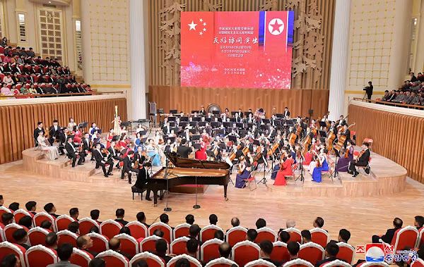 (1) Performances of the symphony orchestra of the State Grand Theatre of China at Samjiyon Orchestra Theatre, Pyongyang, December 1, 2019
