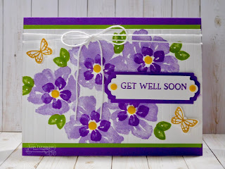 Fantastic Friday - Blossoms In Bloom Get Well Card