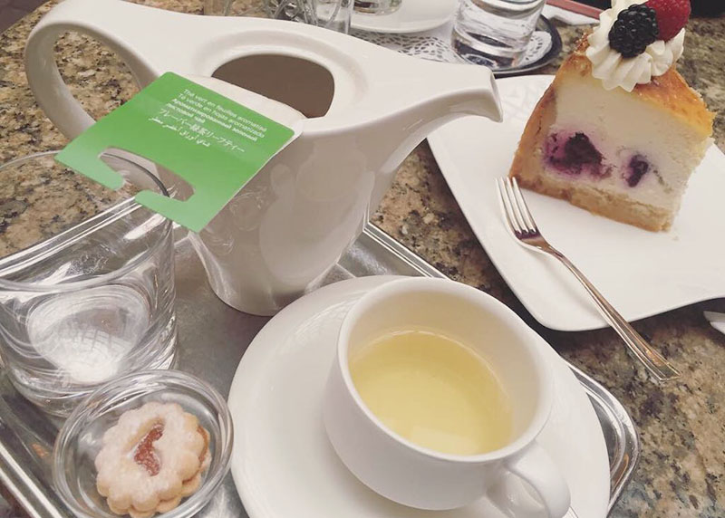 Coffee, Tea and Cakes at the Vienna Marriott
