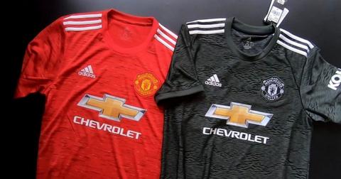 Divise calcio Manchester United 2021 prima ... - maglie calcio 2020