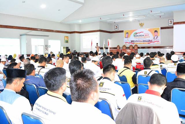 Gelar Rakorda, PKS Siap Rebut Kembali Kejayaan di Kota Medan