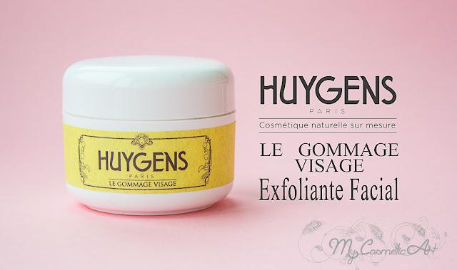 Exfoliante facial de Huygens. Delicioso.