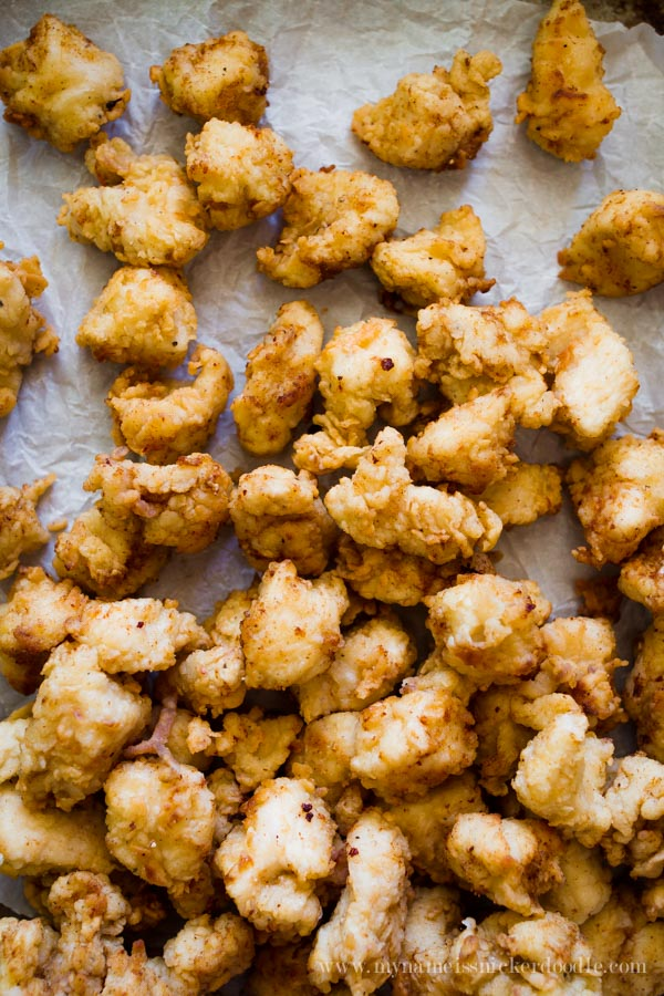 The BEST copycat recipe for Chick-fil-a Chicken nuggets!  So delicious and will put money back in your bank by making them at home!  |  mynameissnickerdoodle.com