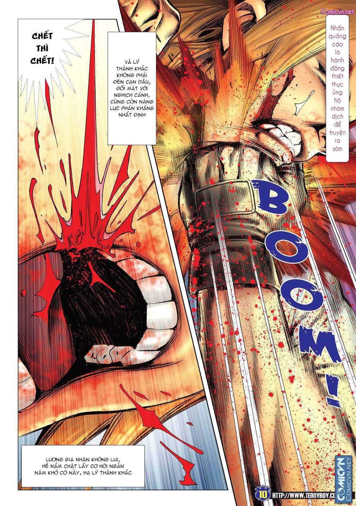 Người Trong Giang Hồ chapter 2138: thắng hết khí thế thua vì đen trang 8