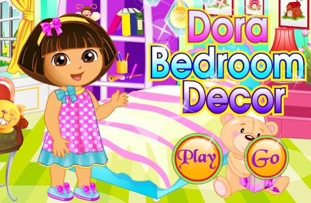 Dora Bedroom Decor game