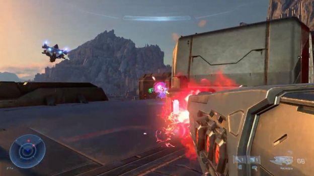 Uma captura de tela do Halo Infinite