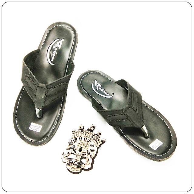 Grosirsandalmurah.net -Sandal kulit imitasi - Rakana Sol DWS
