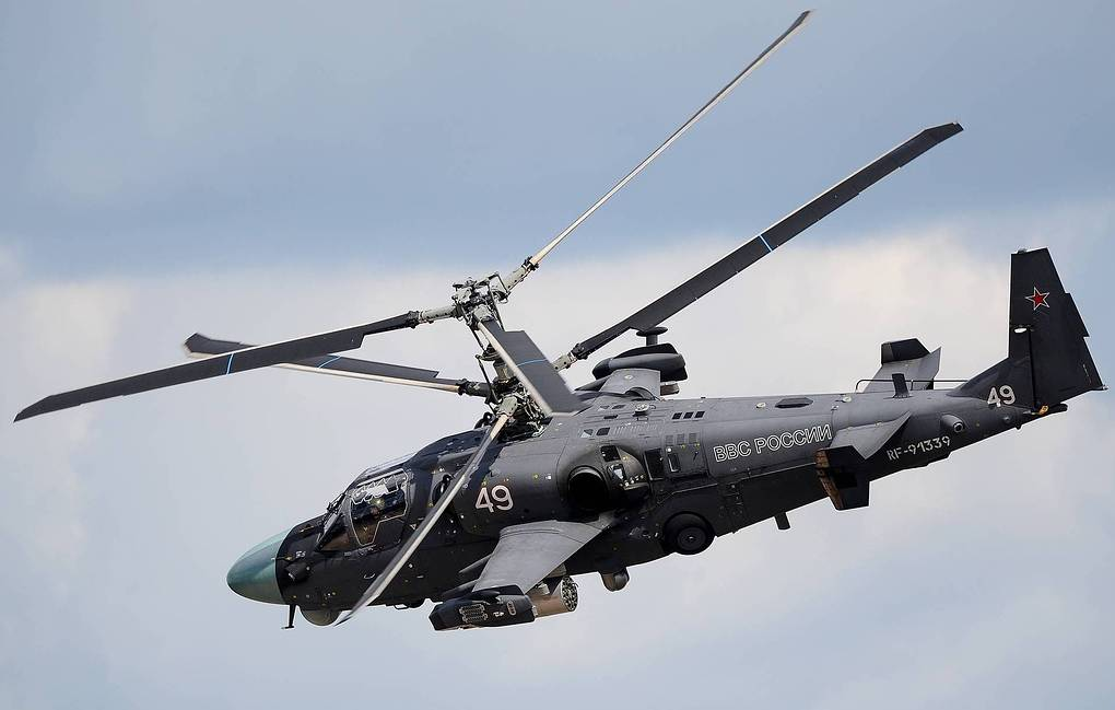 Russia Upgrades Ka-52M Combat Helicopter