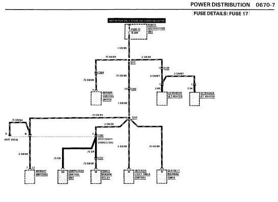 repair manuals bmw 735i 1986 electrical repair. Black Bedroom Furniture Sets. Home Design Ideas