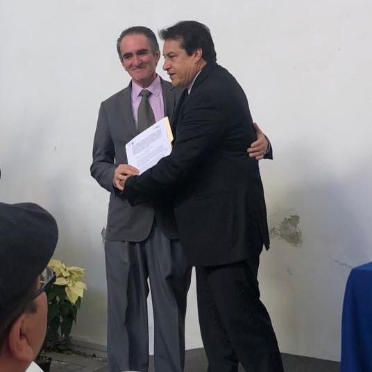 Charolet firma convenio con la CDH